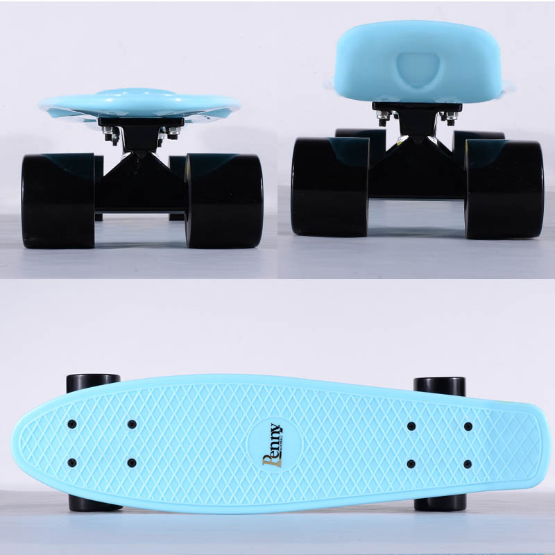 22 inch Penny Pastel Black Trucks and Black Wheels for Farther Day 2015(China (Mainland))