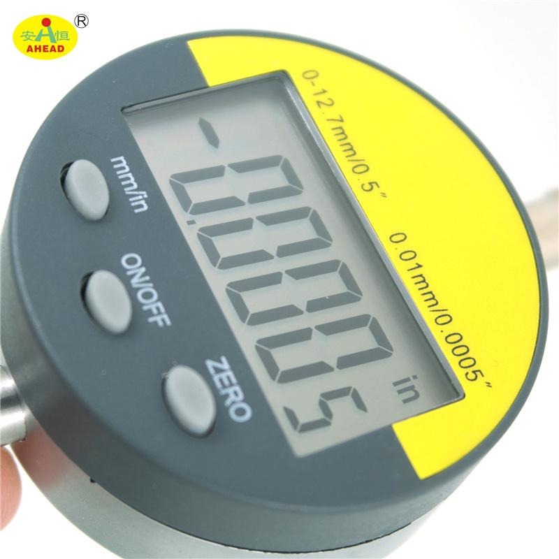 Measurement Instrument 0-12.7mm/0.001mm Electronic Digital Dial Indicator Dial Gauge Lcd display digital indicators AH34-013-AH