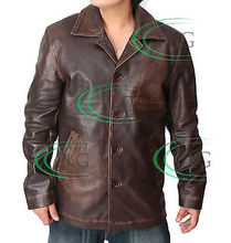Supernatural Dean Winchester Distressed Leather Jacket Available in ALL Sizes (China (Mainland))