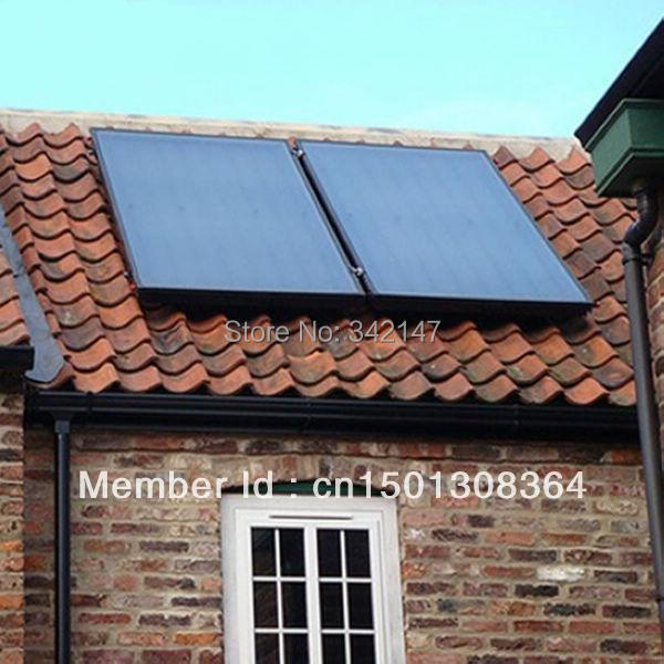 2000x1000x80 mm flat plate solar water heater collector with SRCC Solar Keymark CE CCC(China (Mainland))