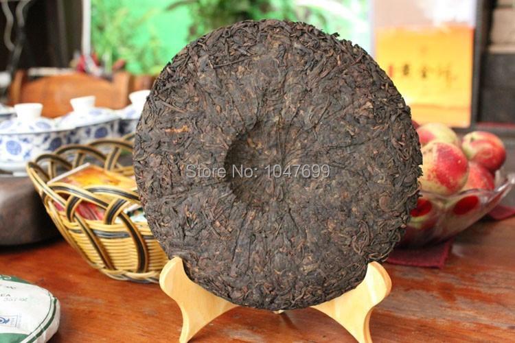 Free shipping The world only 7 Piece Pu er tea 357g treasures puerh Weight loss beauty