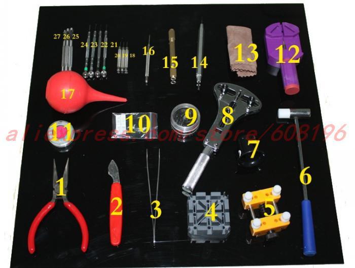 Watch Tool 20 in 1 Watch Repair Tool Kit Screwdriver Band Case Open Tool Kit Horologe Wrist Watch(China (Mainland))