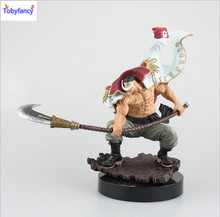 Tobyfancy One Piece Action Figure WHITEBEARD Pirates Edward Newgate PVC Onepiece SCultures the TAG team Anime Figure Toys(China (Mainland))