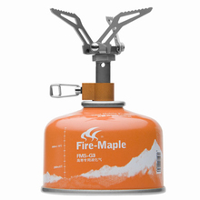 Fire Maple FMS-300T Outdoor Smallest Titanium Mini Gas Stove Lightweight Foldable Portable Camping Burner 45g 2600W Free Shiping