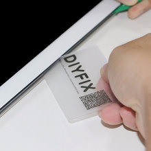 Buy DIYFIX 5pcs Handy Plastic Card Pry Opening Scraper iPad Tablet Samsung Mobile Phone Glued Screen Repair Tool for $1.45 in AliExpress store