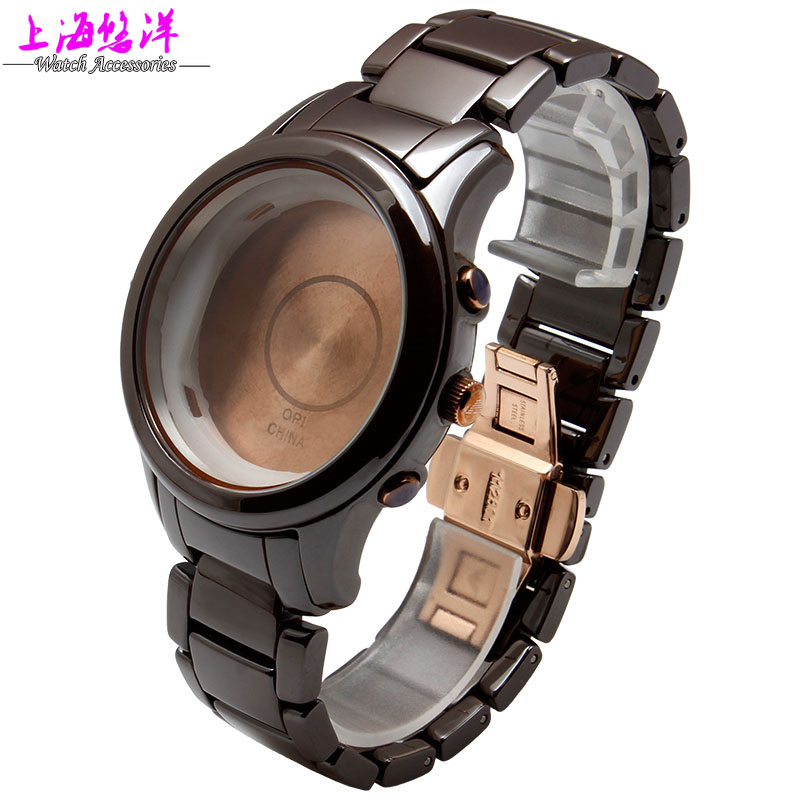 Watch accessories really 22mm brown case adaptation of AR1454 ceramics can be a single buy dial and a watchband(China (Mainland))