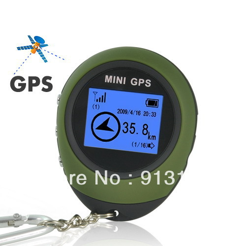Handheld Keychain PG03 Mini GPS Tracker, GPS Receiver, GPS Location Finder for Outdoor Sport Travel - Free Shipping to Worldwide(China (Mainland))