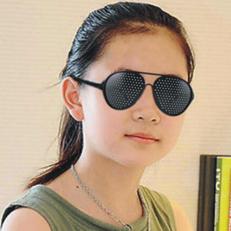Unisex Eyesight Correcting Occhiali Mesh Glasses Vision Care Pinhole Pin Hole Glasses oculos de grau Corrective(China (Mainland))