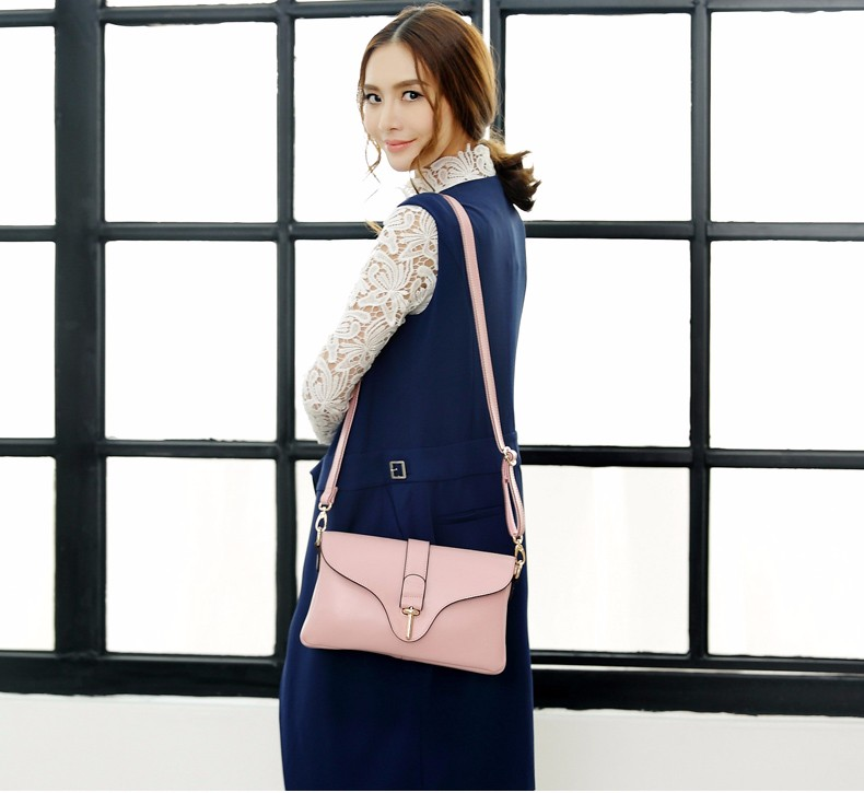 Designer Real Leather Messenger Bag Women Trendy Plaid Shoulder Bag Classy Cheap Ladies Fab Cowhide Crossbody&Clutch Bag