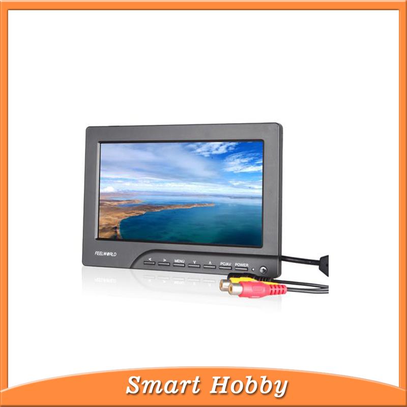 FEELWORLD 800x480 FPV769A RCA video 5.8GHZ wireless receiever fpv monitor/ quadcoptor monitor(China (Mainland))
