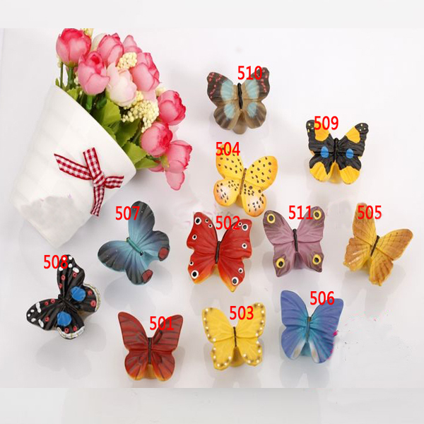 Butterfly Knobs Handles Resin Door Handles Cabinets Cupboard Drawer(China (Mainland))