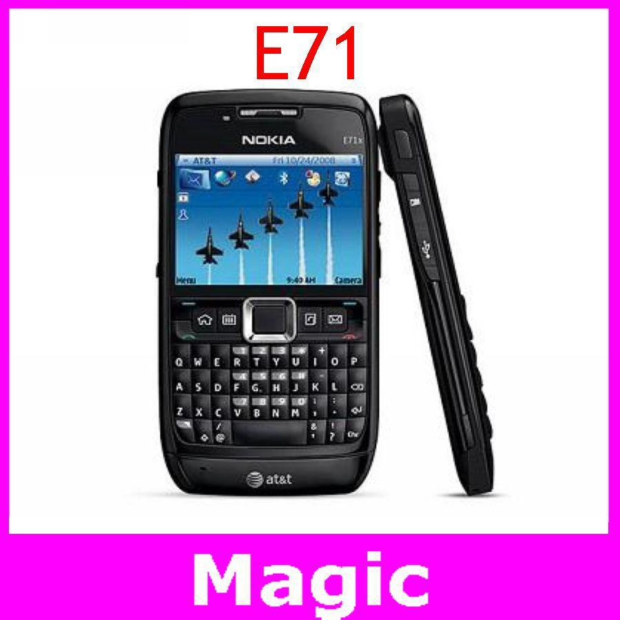 Мобильный телефон Nokia E71 GPS wifi, Bluetooth JAVA телефон nokia e71 или e73 с tv
