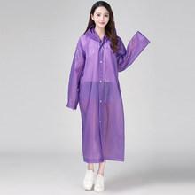 Keconutbear Мода eva женский плащ утолщенный водонепроницаемый дождевик женский прозрачный Тур непромокаемый плащ костюм(China)