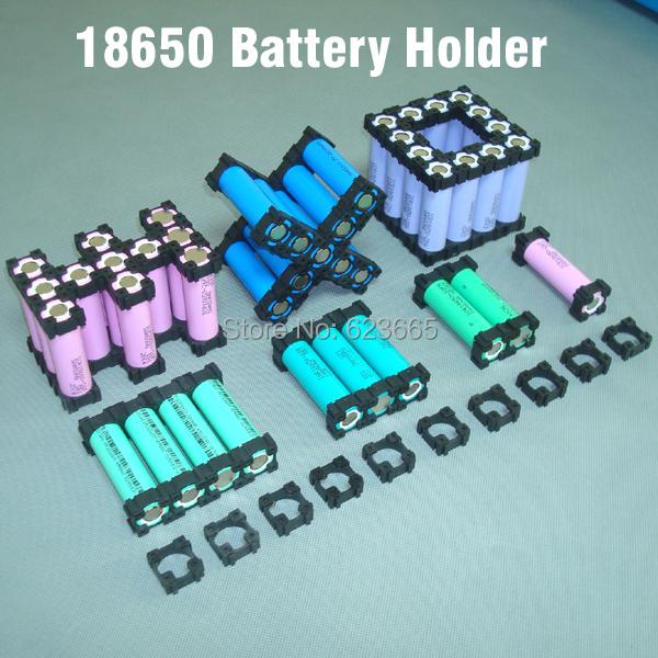 18650 battery holder bracket Cylindrical battery holder ...