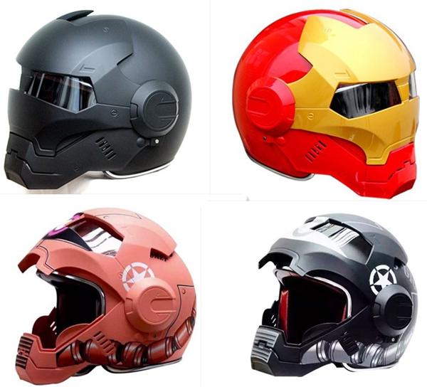Free Shipping MASEI 610 half helmet motorcycle helmet full helmet IRONMAN Iron Man America DOT security certification(China (Mainland))