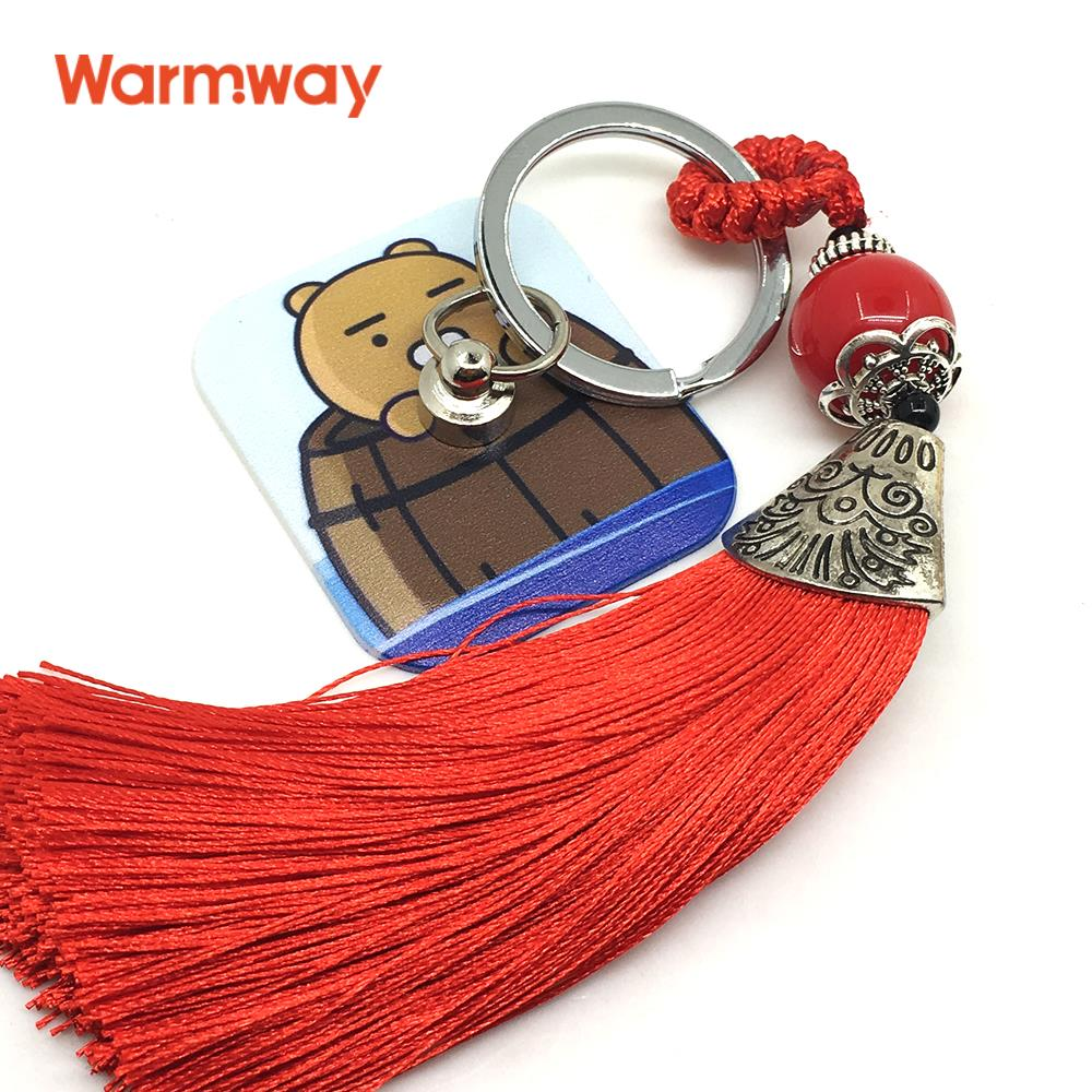 Warmway Cute Ryan Theme Portable Mobile Phone Strap Ring Holder with Reusale Rewashable Nano Silicone Glue 2017 New Design(China (Mainland))