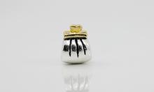Free Shipping Fashion 925 Silver Bead Charm European Silver Handbag Moneybag Bead Fit pandora Bracelet H386