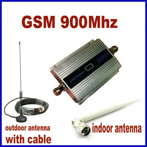 LCD Display Mini GSM 900Mhz Mobile Phone Signal Booster Repeater Cell Amplifier Cable + Antenna - super 889 store