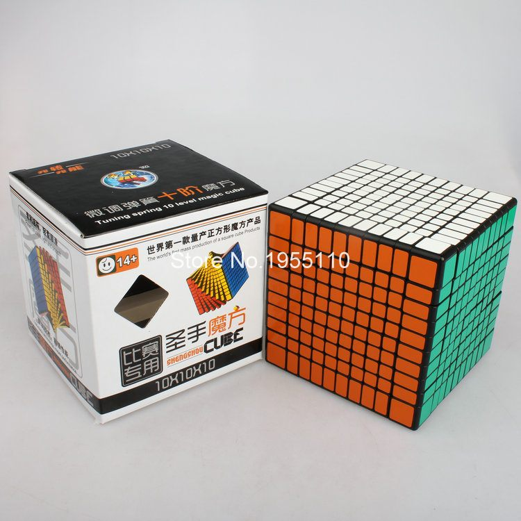 Magic Cube ShengShou 10-Layers 102mm Educational Twist Toys Puzzle Cube IQ Cube<br><br>Aliexpress
