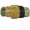 Sport Chest bag 600D Molle Nylon Tactical Utility 3 Ways Shoulder Sling Pouch Backpack Climbing travel