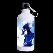 2014 New DIY Anime Uchiha Sasuke Fashion Mug mental sports water bottles 650mm Unique design for outside Sport Cup(China (Mainland))