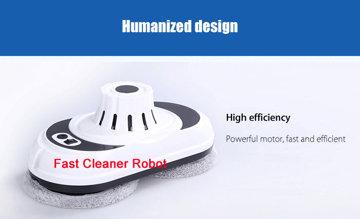 (Russia Warehouse) Auto clean anti-falling Smart Window Glass Cleaner control Robot Vacuum Cleaner Free Shipping
