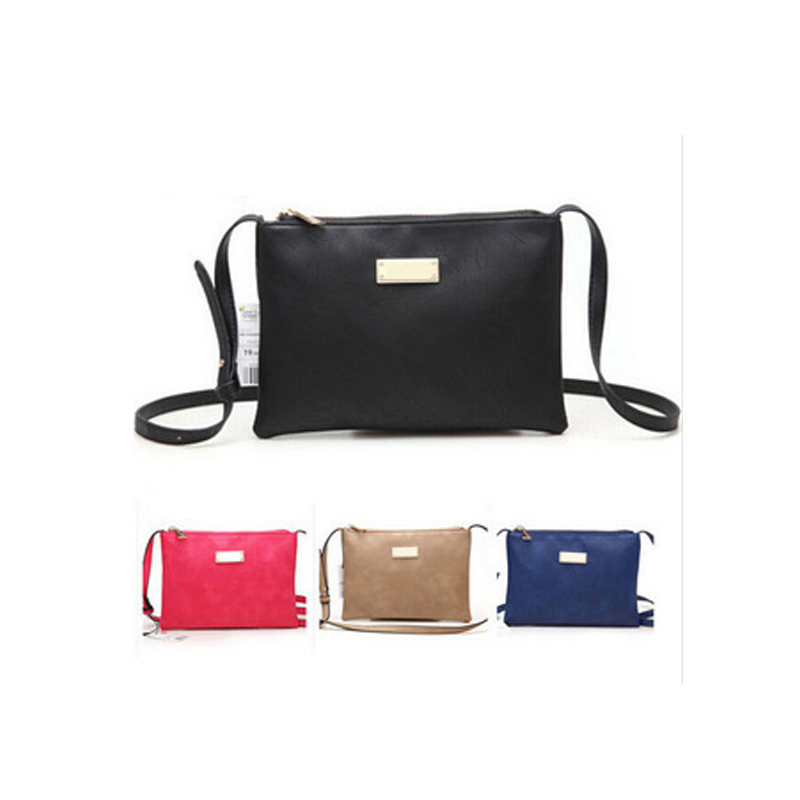 4 Colors PU Leather Handbags For Women Messenger Bags Clutches Crossbody Small Shoulder Bolsa Feminina