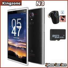 With Gift 4G Multi-language Kingzone N3 OTG NFC 5'' Android4.4 MTK6582+6590 Quad Core 13MP Dual SIM FDD-LTE+WCDMA+GSM SmartPhone(China (Mainland))
