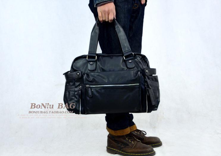 2013casual Male Bags Big Bag Messenger Bag Handbag Travel Bag