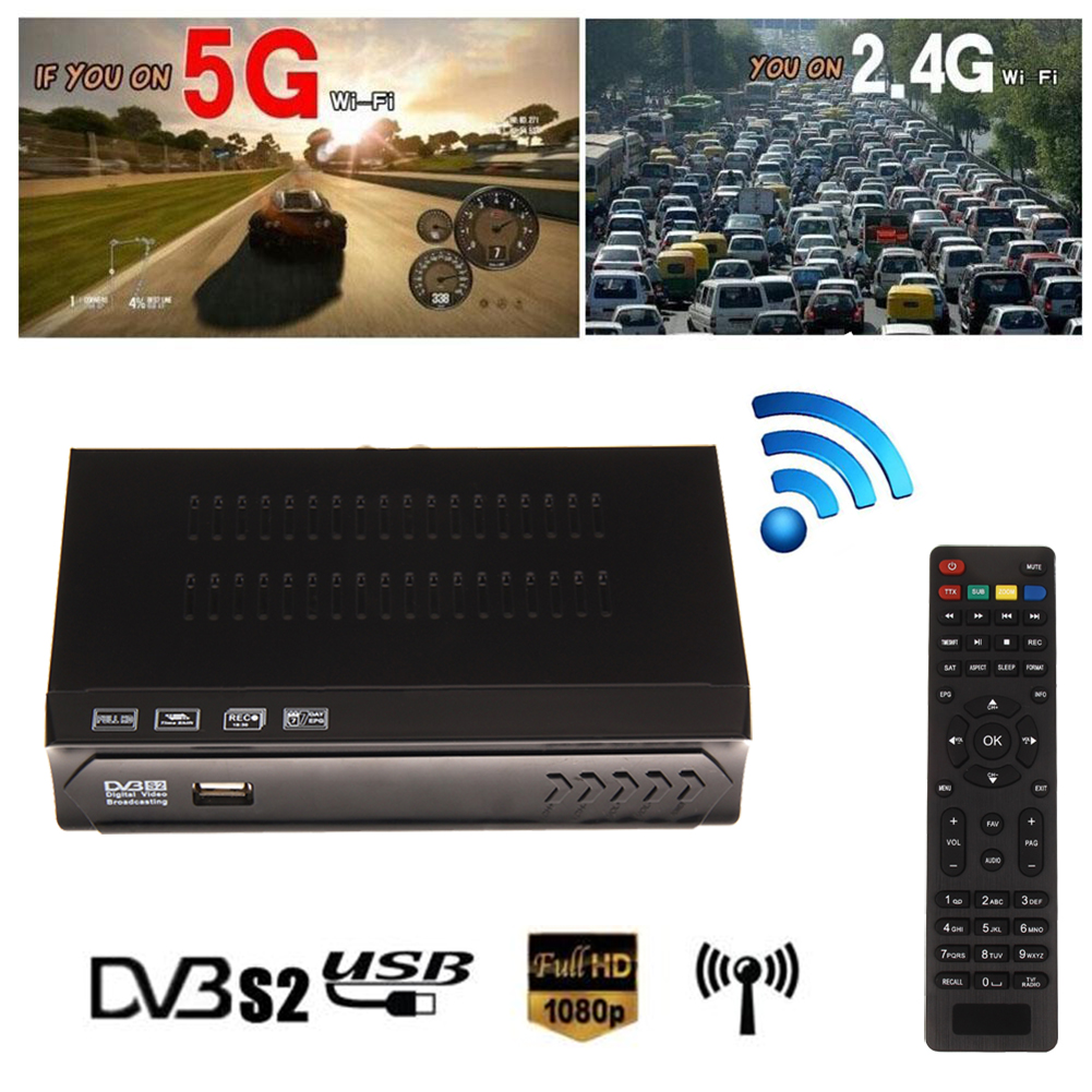 Universal ball M5-S2 Digital TV Receiver Box HD 1080P FTA MPEG4 H.264 TV Receiver With Remote Control(China (Mainland))