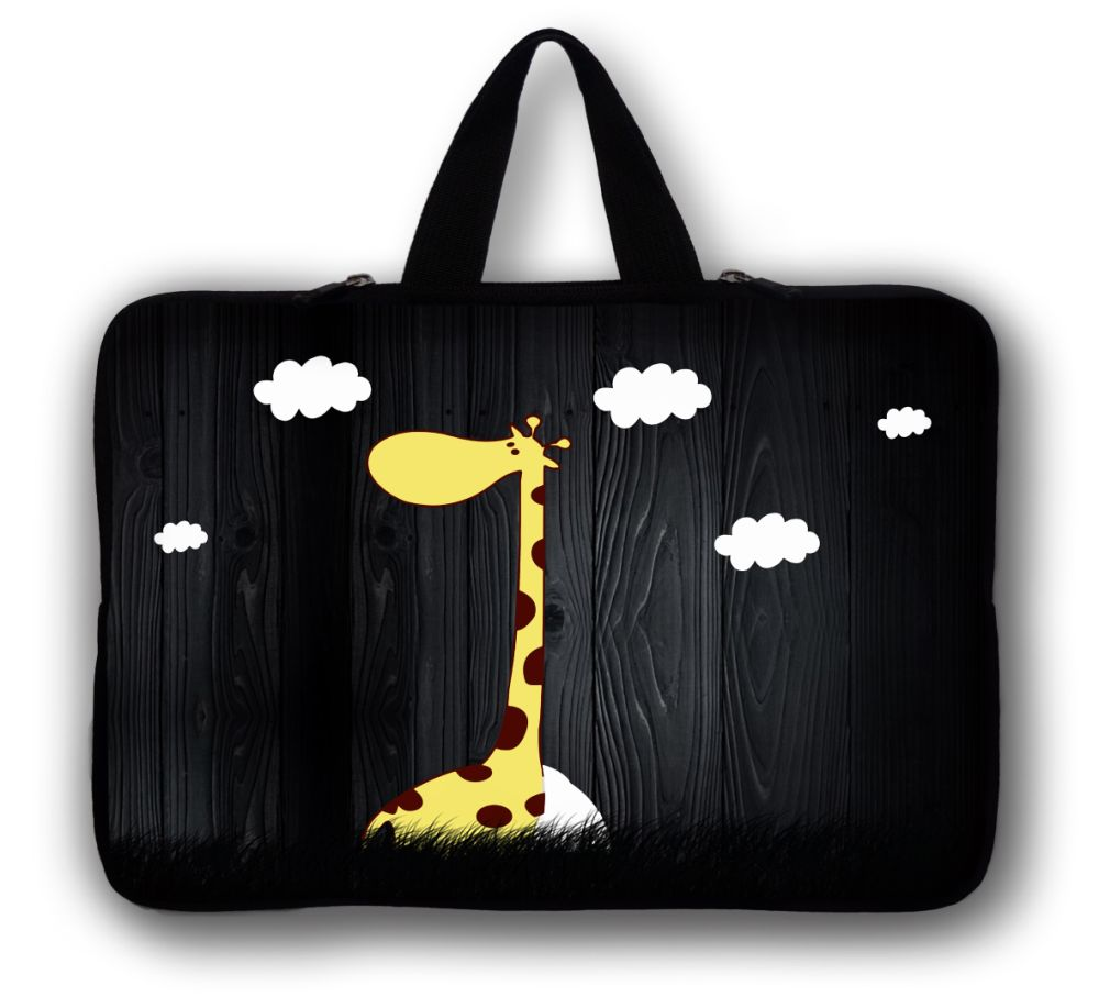 9.7 10 inch Giraffe Notebook tablet sleeve portable laptop PC case bag 10.1'' For Dell Venue 10 Lenovo YOGA For Ipad 2 3 4 5 #1(China (Mainland))