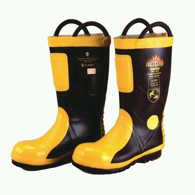 10pairs/lot High Quality Fire Fighting Boots ,Fire Safety Boots,Fireman Rescue Boots ,Free Shipping