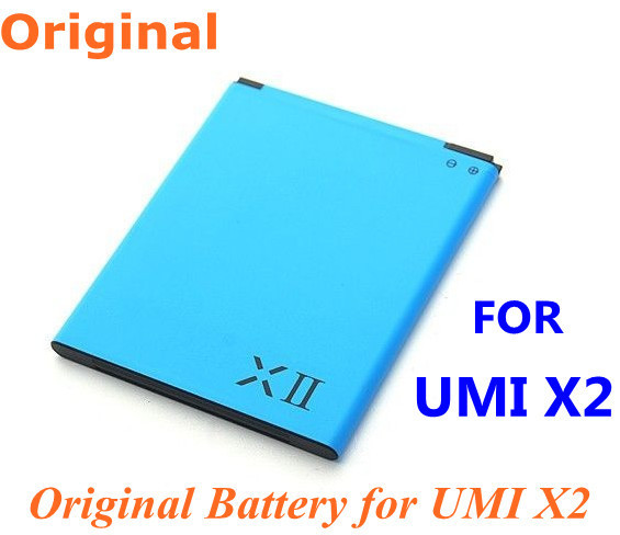 Cheap price,free shipping, 2 pcs/lot new UMI Battery for UMI X2 Cell Phone