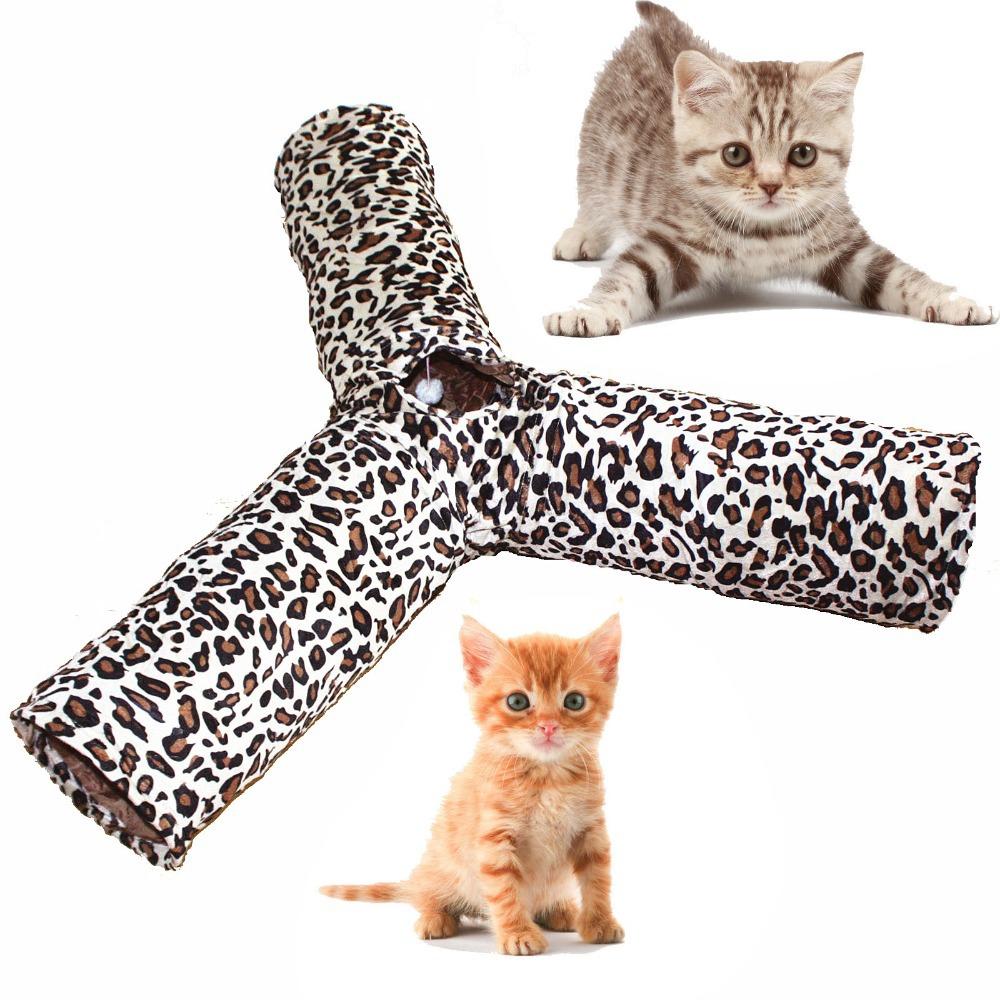 Tunnel jouer en plastique achetez des lots petit prix - Chat type leopard ...