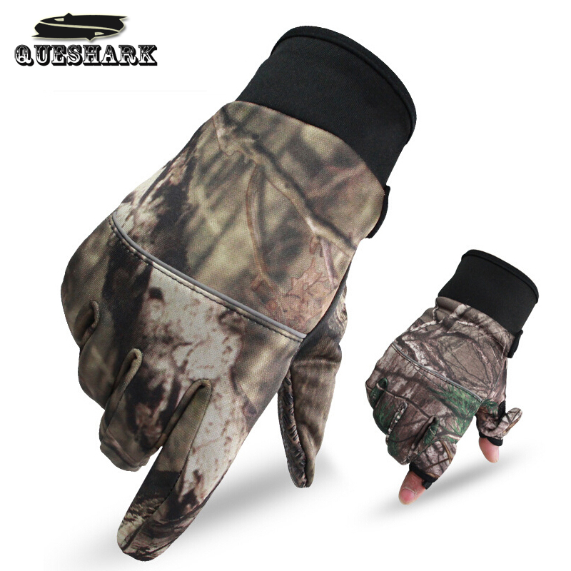 Smalotus 3D Camouflage Ultra-thin Breathable Non-Slip Windproof Touchscreen Warm Fleece Outdoor Sports Cycling Gloves<br><br>Aliexpress