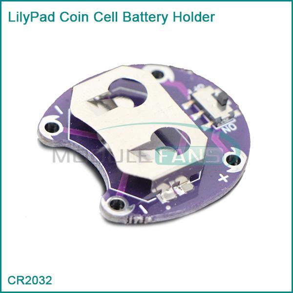 Lilypad держатель батарейка