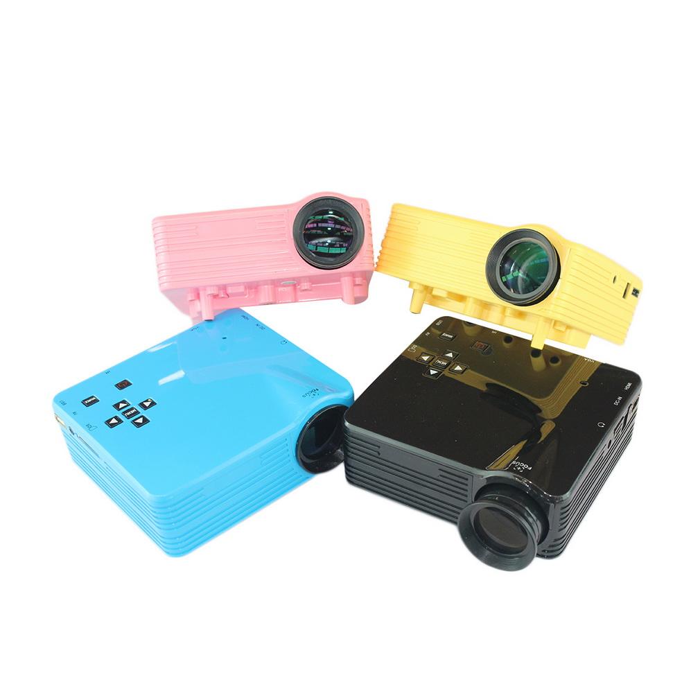 New Arrival 4 Color EU/US Plug HDMI LED Multimedia Video Movie Projector Home Cinema Theater AV VGA TV USB<br><br>Aliexpress