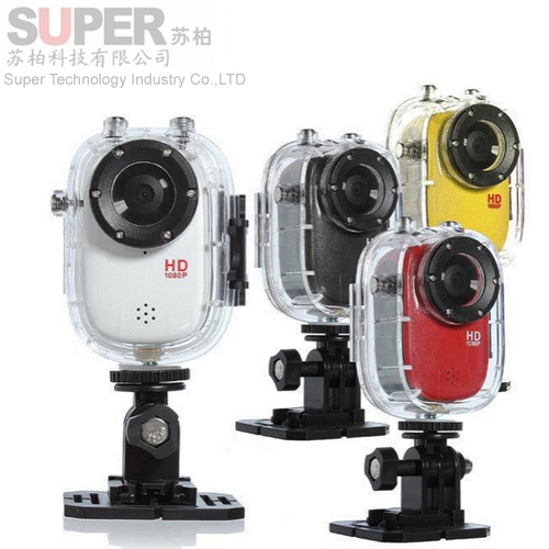 F10 Gopro Mini Sports Camera Video Recorder Full HD 1920*1080P(30fps) waterproof 30M camera with1.5-inch high definition screen(China (Mainland))
