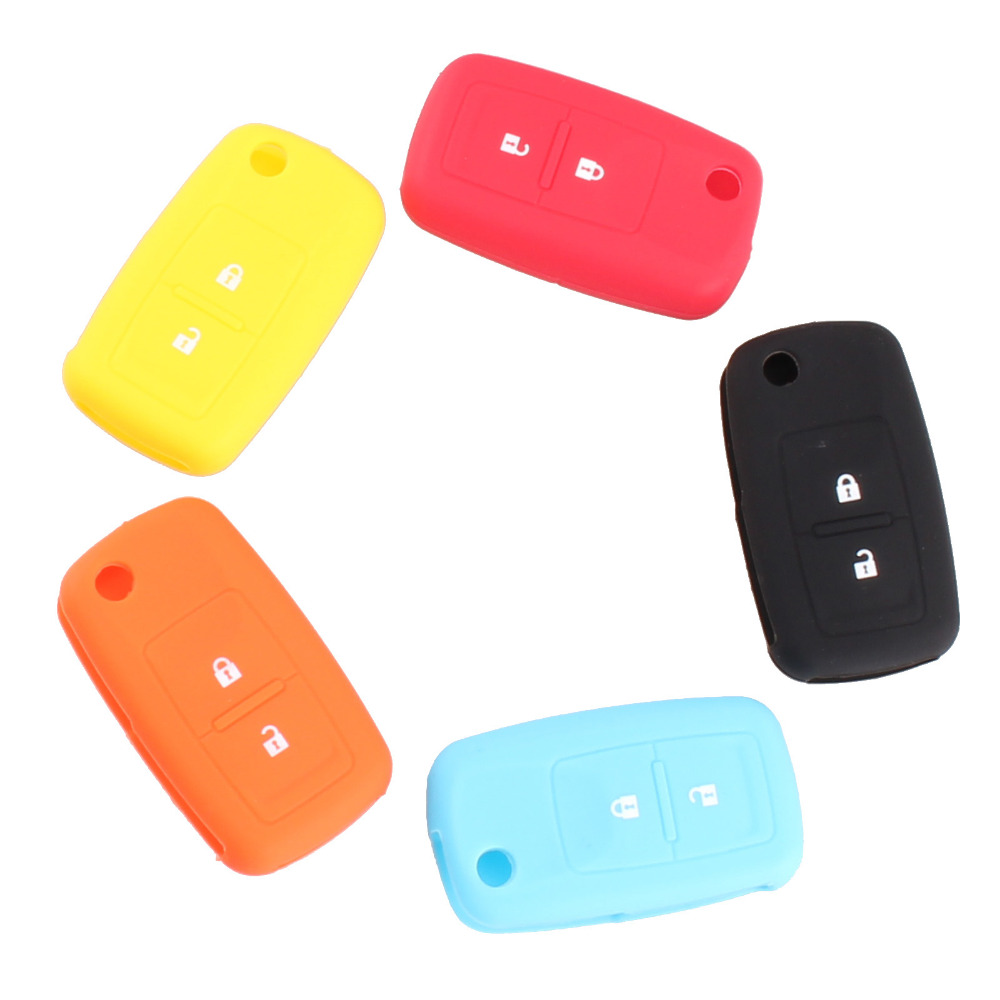 New 2 Buttons Silicone Car Key Cover For VW Volkswagen Passat Polo Golf Touran Bora Jetta Cady Touran Sharan Transporter(China (Mainland))