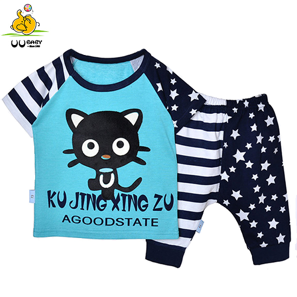 New 2015 Baby Clothing Sets roupas infantil meninos Baby Boys Children Sets Short Tops + Pants kids clothes Summer Suit BC043(China (Mainland))