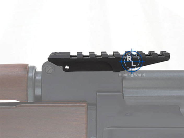 Tactical AK Rear Sight Picatinny Rail Fit AK Series Airsoft Gun Rifle for Hunting Shooting 20mm