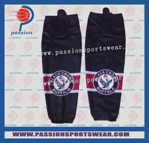 Team practice shirts cheap custom ice hockey jerseys/hockey socks(China (Mainland))