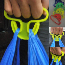Grocery kitchen shopping bags hanger good helper dish is easy to mention hanger loop filter bag load-bearing 15KG(China (Mainland))