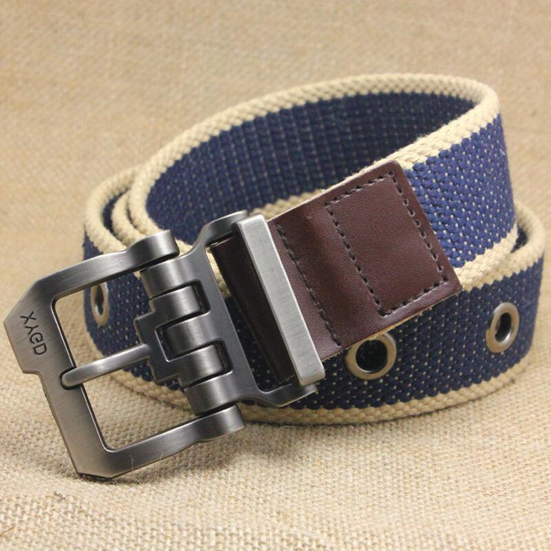 2016 New Men Belt Thicken Canvas Communist Military Belt Army Tactical Belt High Quality Strap 110cm/130 cm 7 Colors(China (Mainland))
