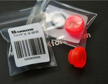 Barrow red Acrylic PMMA core plug end cap waterstop lock thread G1/4'' computer water cooling system use. BDTY-H2(China (Mainland))