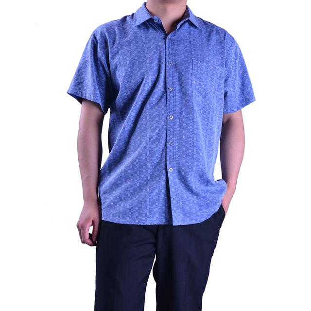 Мужчины летом 100% шелковая рубашка печатных мода высокое качество шелковицы шелковая ...