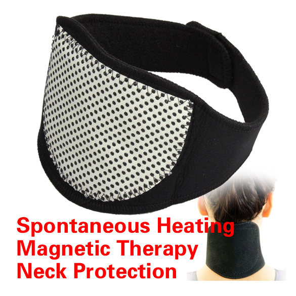 Magnetic Therapy Neck Spontaneous Heating Headache Belt Neck Massager Heating Belt(China (Mainland))