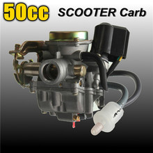 2016 New 50CC Scooter Carburetor Moped Carb for 4-Stroke GY6 SUNL ROKETA JCL Qingqi Vento