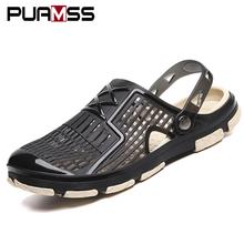 2019 Nuovi Sandali Degli Uomini di Vibrazione di Estate di Cadute di Pistoni Degli Uomini Della Spiaggia All'aperto Casual Scarpe A Buon Mercato Maschile Sandali Scarpe di Acqua Sandalia Masculina(China)