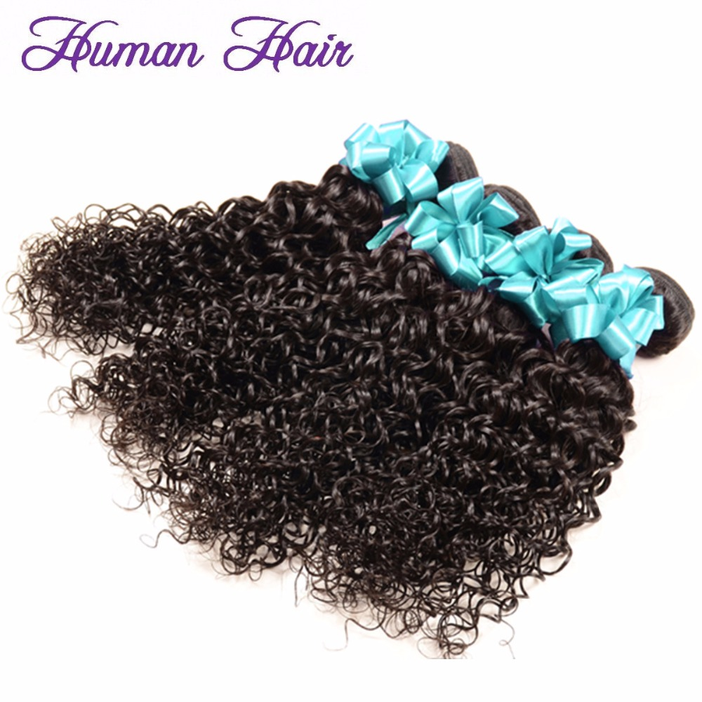 Virgin Indian Hair 4Pcs/lot 8inch-30inch Jerry Curl Unprocessed Indian Remy Human Hair Bundle Top 6A Grade Natural Color(China (Mainland))